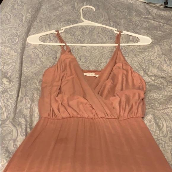 Lush Style Finds Dresses & Skirts - Pink Maxi Slit Dress